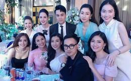Dàn khách mời toàn Hoa hậu, Á hậu váy áo lộng lẫy đến mừng ngày hạnh phúc của Tú Anh