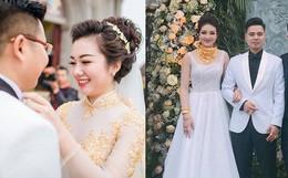 """""""Cô dâu đeo vàng trĩu cổ"""" có chị gái xinh đẹp không kém, cũng từng gây kinh ngạc với đám cưới rước dâu bằng máy bay và siêu xe"""