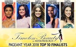 Quá tự hào: Việt Nam có 2 nàng hậu được bình chọn đẹp nhất hành tinh, H'Hen Niê còn dẫn đầu danh sách!