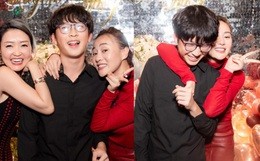 Em trai Á hậu Huyền My lại chiếm spotlight vì quá điển trai, đến mức diễn viên Phương Oanh cũng không thể ngồi yên!