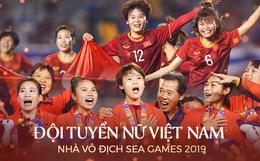 Tuyển nữ Việt Nam ăn mừng đầy cảm xúc sau khi đánh bại Thái Lan, khẳng định vị thế số 1 Đông Nam Á