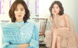 """Khi Kbiz ầm ĩ vì tin đồn ly hôn, Song Hye Kyo chỉ """"thả nhẹ"""" bộ ảnh tạp chí lộng lẫy và tâm sự về điều quan trọng này"""