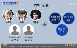 Chấn động: MBN tiết lộ luôn danh sách đầy đủ 8 nhân vật trong chatroom tình dục bệnh hoạn của Seungri