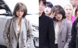 Bị tung ảnh nóng giả vì bê bối chatroom của Seungri, Jihyo (TWICE) uất đến mức bật khóc luôn tại sân bay hôm nay