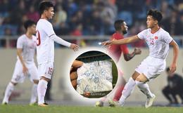 """Bật mí mảnh giấy HLV Park Hang-seo """"nhắc bài"""" Quang Hải trước khi U23 Việt Nam ghi bàn vào lưới Indonesia"""