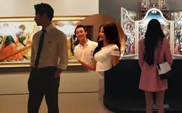 Lộ thêm bằng chứng Á hậu Hoàng Thuỳ sang Úc hẹn hò cùng Rocker Nguyễn?