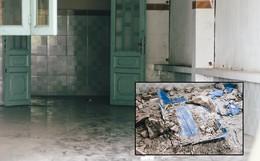 Mùi hôi nồng nặc bên trong căn nhà nơi phát hiện 2 khối bê tông chứa thi thể người ở Bình Dương