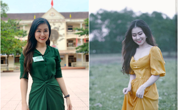 """Nữ giám thị xinh đẹp gây chú ý tại điểm thi THPT Quốc gia ở Nghệ An, profile """"khủng"""" của cô càng khiến mọi người kinh ngạc"""