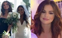 Làm phù dâu như Selena Gomez: Body đầy khuyết điểm mà vẫn nổi hơn cả nhân vật chính, khoe vòng 1 bốc lửa