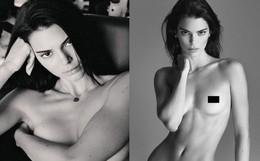 """Ảnh nude toàn tập nhận 2,9 triệu like sau 2 tiếng của nàng mẫu 9x Kendall Jenner: Đâu phải cứ """"ngồn ngộn"""" mới là sexy"""