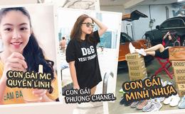 """Những """"cô chiêu"""" đang nổi đình đám: Con gái Quyền Linh xinh như hoa hậu, ái nữ nhà Minh Nhựa và Phượng Chanel sang chảnh khỏi bàn"""