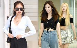 BLACKPINK vừa về Hàn đã gây sốt tại sân bay: Jennie đơn giản mà sexy, Rosé lấn át Jisoo nhưng vì tay chân gầy báo động