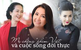 """Cuộc sống thăng trầm của những bà """"mẹ chồng"""" trên màn ảnh phim Việt: Người 2 lần làm """"vợ lẽ"""", người hạnh phúc viên mãn sau 40 năm hôn nhân"""