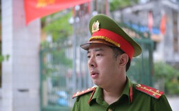 """Đại úy công an 'hộ tống' nữ sinh Hà Giang kịp giờ thi: """"Lúc tôi đến nhà, thí sinh còn đang ngủ"""""""