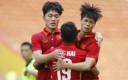 Công Phượng đánh đầu tung lưới U23 Thái Lan