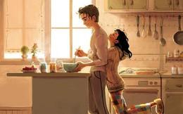 Bộ tranh: Tình yêu là khi chúng ta có thể tìm thấy ai đó đồng điệu để sẻ chia cuộc sống này
