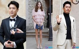 """Hôn lễ tài tử phim """"Yongpal"""": Chú rể đẹp trai quá mức quy định, tình cũ màn ảnh Han Chae Young lộ chân gầy như sắp gãy"""