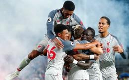 Liverpool nhọc nhằn đánh bại Crystal Palace