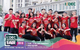 Điều gì khiến giới trẻ háo hức chờ đón INDEC International Fair 2018?