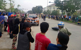 """Ôtô """"điên"""" tông thẳng vào CSGT đang xử lý tai nạn trên đường, 6 người trọng thương"""