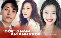 Kpop cứ 5 năm 1 lần lại chứng kiến toàn sự kiện chấn động: Nhóm nhạc quốc dân mất thành viên; kiện tụng, scandal khiến loạt idol rút khỏi làng giải trí