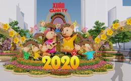 Đường hoa Nguyễn Huệ Xuân Canh Tý 2020 có gì đặc biệt?