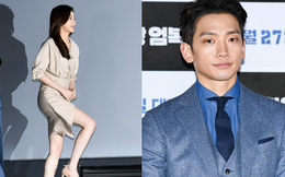 Bi Rain xuất hiện sau tin đồn tránh nói đến vợ, nhưng Kang Sora lại chiếm hết spotlight nhờ đôi chân cực phẩm