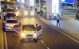 Thanh tra giao thông nói gì về clip chặn ô tô Grab tại đường dẫn sân bay Đà Nẵng gây xôn xao MXH?