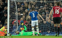 """""""Tội đồ"""" Fellaini khiến Man Utd đánh rơi 2 điểm trên sân Goodison Park"""