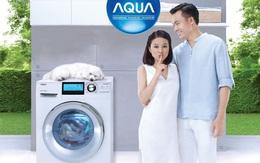 Máy giặt lồng ngang AQUA Inverter: Đổ đầy khay 1 lần, giặt khoảng 20 lần