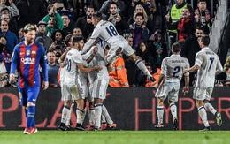 """Ronaldo """"tịt ngòi"""", Real Madrid hòa hú vía ở trận """"Siêu kinh điển"""""""