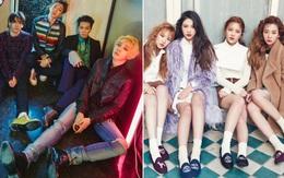 """Trùng hợp: Số phận """"nhọ nồi"""" của lớp idolgroup 2014 từ cả SM, YG, JYP"""