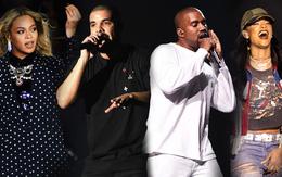 """Beyoncé, Drake, Rihanna, Kanye là """"trùm"""" đề cử Grammy 2017"""