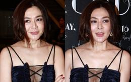 """""""Hồ ly giật chồng"""" Quan Chi Lâm mặt cứng đờ vô cảm, bị nghi tiêm botox ở tuổi 54"""