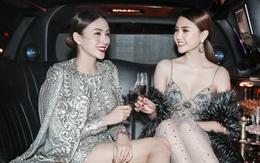 Ngọc Duyên diện đồ gợi cảm, Lê Hà khoe chân dài bên siêu xe tại show Victoria's Secret