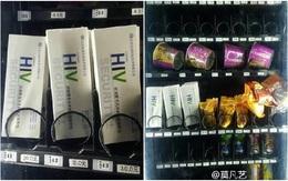 Trường học bày bán que thử HIV trong máy bán hàng tự động
