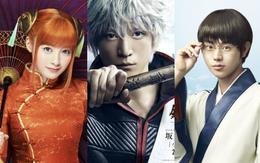 Live-action Gintama gây thích thú khi tung poster bộ ba nhân vật chính