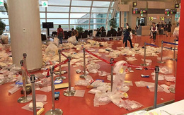 """Du khách Trung Quốc đổ bộ và biến sân bay Jeju thành... bãi rác chỉ chưa đầy """"một nốt nhạc"""""""