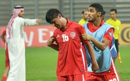 Cầu thủ Bahrain khóc nức nở vì thua U19 Việt Nam
