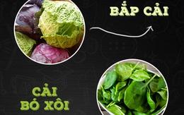 Những loại rau không nên luộc kẻo chỉ còn bã, không còn chất