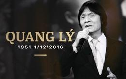 NSƯT Quang Lý đột ngột qua đời vào 9h sáng nay