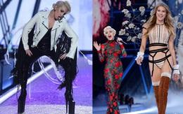 """Cao 1m55, Lady Gaga phải đi giày siêu """"khủng"""" để đứng bên các thiên thần Victoria's Secret"""