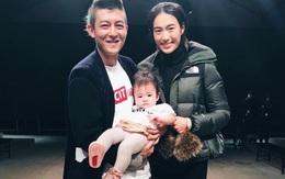 Trần Quán Hy đưa tiểu công chúa tới ủng hộ show tái xuất làng mẫu của bạn gái Tần Thư Bồi