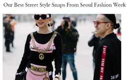 Mới ngày đầu dự Seoul Fashion Week, Tóc Tiên và Min đã lọt Top street style của Vogue