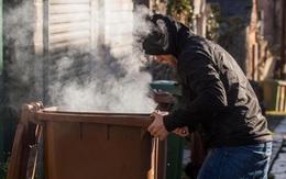 Hít khói thải từ thùng rác, thú vui tìm cảm giác hưng phấn đầy nguy hiểm của thanh niên Anh