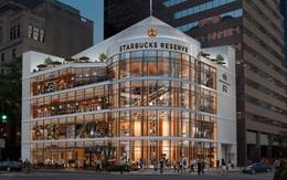 Choáng ngợp với cửa hàng có quy mô lớn nhất từ trước đến nay của Starbucks
