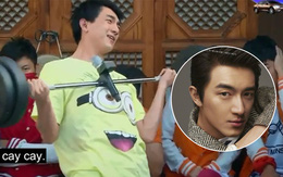 """Hàn Quốc có Ji Chang Wook, Trung Quốc có Lâm Canh Tân cực """"ngố tàu"""" khi chơi """"Running Man"""""""