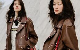 """Cô nàng 17 tuổi với khuôn mặt """"lệch chuẩn V-line"""" này là mẫu Hàn duy nhất được Vogue Mỹ chú ý tại Seoul Fashion Week vừa qua"""
