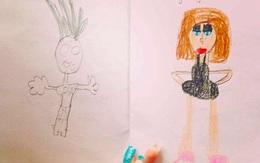 """10 bức vẽ nguệch ngoạc của trẻ con vô tình """"bóc phốt"""" thói xấu của bố mẹ"""