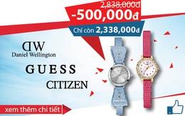 Khuyến mãi hiếm hoi cho những tín đồ đồng hồ chính hãng tại Cititime Mall
